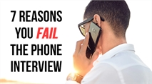 Telephone Interviews Matter for One Reason... Getting the Face to Face Interview
