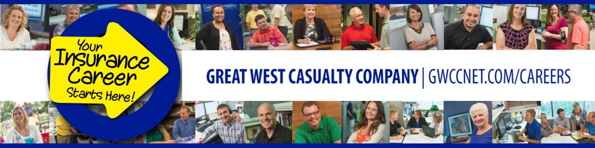 Great West Casualty Company Job Template Header
